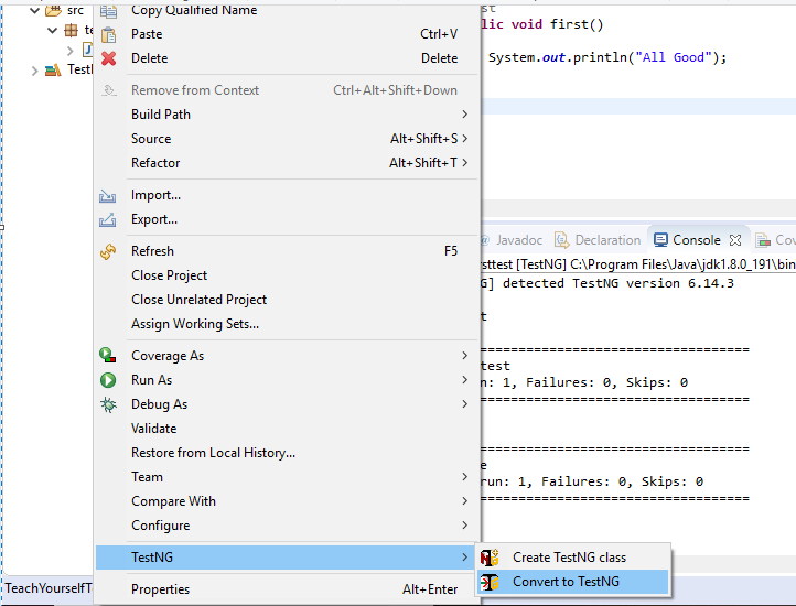 Day 32 - TestNG XML File - Teach Yourself Test Automation